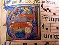 Jacopo del casentino (ambito), graduale, 1330-40 ca. (biblioteca del castello di poppi) 02.JPG