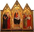 Jacopo di Cione - Madonna and Child with Saints, 1391.jpg