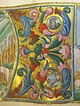Jacopo filippo argenta e fra evangelista da reggio, antifonario XII, 1493, 14,1.jpg