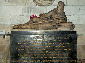Lord James Douglas - Tomb of Lord James Douglas, Abbey of Saint-Germain-des-Prés