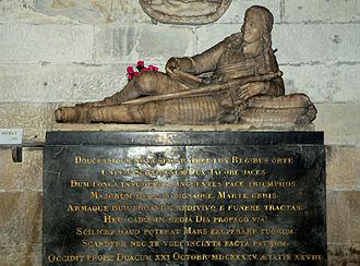 Lord James Douglas - Tomb of Lord James Douglas, Abbey of Saint-Germain-des-Prés