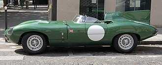 1955 World Sportscar Championship - Jaguar placed third with the D-Type