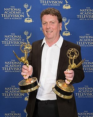Jamie Doran - Doran at the 34th Annual News and Documentary Emmy Awards