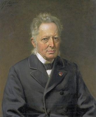 Jan Heemskerk - Portrait by Johan Heinrich Neuman, 1896