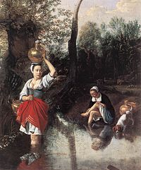 Jan Siberechts - The Wager - WGA21195.jpg