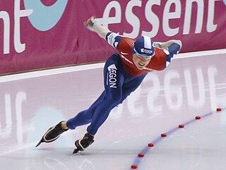 Jan Smeekens Dutch speed skater