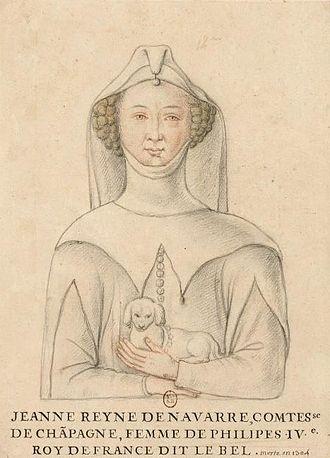 Joan I of Navarre - Image: Jana Navarra B Nf