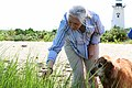Jane Goodall enjoying a wetland walk with friend.jpg