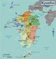 Japan Kyushu Map.png