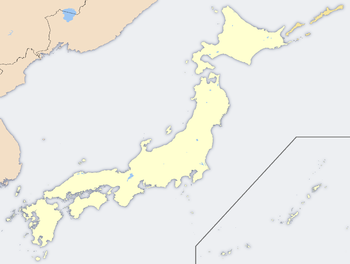 Location map Yaponiya
