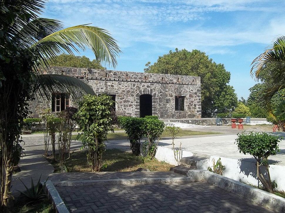 Jardín de La Contaduría, en San Blas.