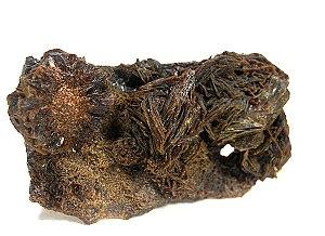 Jarosite - Jarosite crystals from Sierra Peña Blanca, Aldama, Chihuahua, Mexico (5.6 x 3.1 x 1.6 cm)