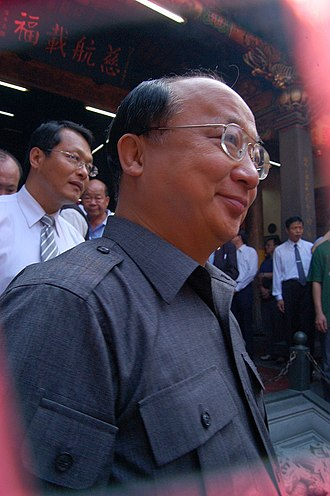 Mayor of Taichung - Image: Jason Hu Lecheng at Temple Matsu