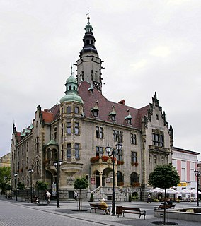 Jawor Place in Lower Silesian Voivodeship, Poland