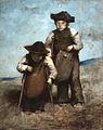Jean-Alexandre-Joseph FALGUIERE - Les nains, souvenir d'Espagne - Musée des Augustins - D 1926 1.jpg