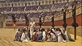Jean-Léon Gérôme - The Christian Martyrs' Last Prayer - Walters 37113 détail 2.jpg
