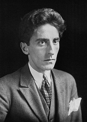 Jean Cocteau (1889-1963), French writer, artist and filmmaker, in 1923.