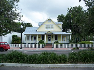 Zephyrhills, Florida - Historic Jeffries house.