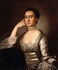 Portrait of Mrs. John Champneys (Anne Livingston, born 1746)