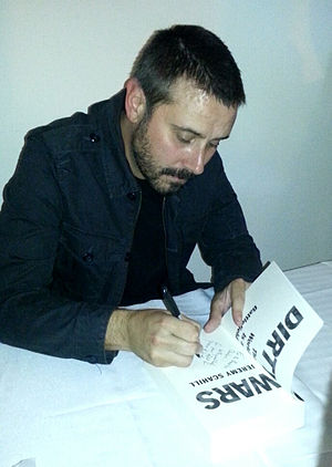Jeremy Scahill - Scahill at a book signing (2014)