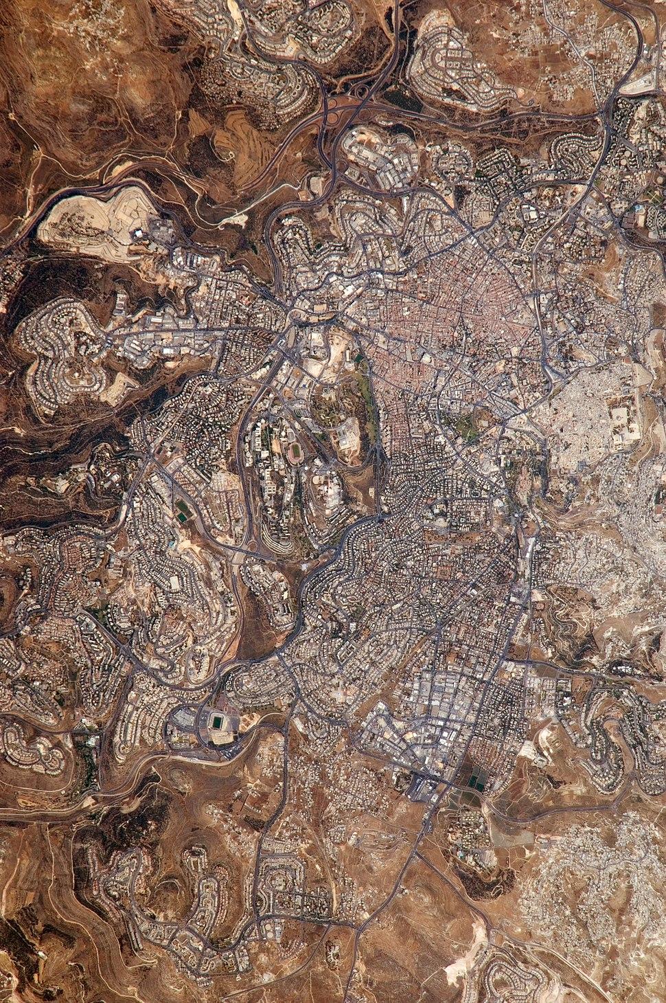 Jerusalem from-space