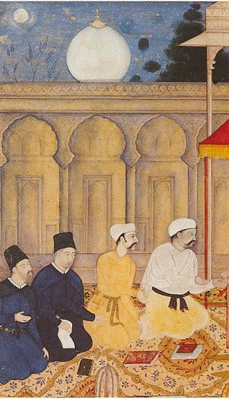 Society of Jesus - Jesuits at Akbar's court in India, c. 1605