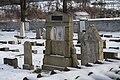 Jewish cemetery in Pisek in winter (16).JPG