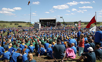 Scouterna - The national jamboree Jiingijamborii in 2007 was an important step towards the unification of Scouting and Guiding in Sweden.