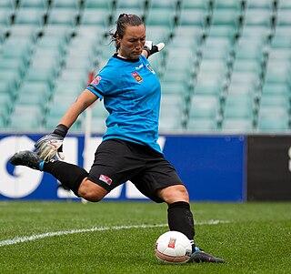 Jillian Loyden Soccer goalkeeper