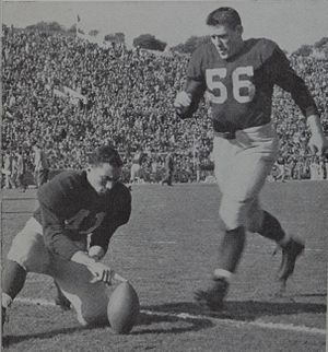 1946 Michigan Wolverines football team - Jim Brieske, the leading scorer on the 1946 team with 32 points.