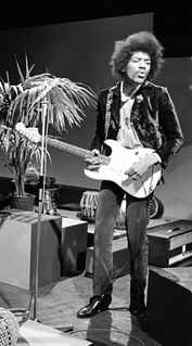 Jimi Hendrix American guitarist, singer and songwriter