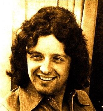 Junior Campbell - 1970's Deram Records promo pic during solo recording career