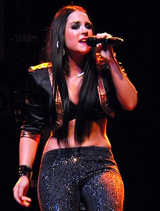 JoJo (singer) - JoJo performing as the opening act on the Joe Jonas & Jay Sean Tour in Atlanta, Georgia on October 3, 2011.