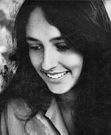 Portrait o Joan Baez in 1961