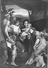Madonna mit dem hl. Hieronymus (nach Correggio)