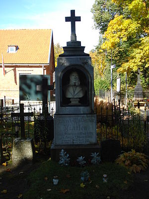 Johann Voldemar Jannsen - Gravestone in Tartu