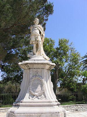 Antonio Corradini - Monument to Johann Matthias Graf von der Schulenburg, Marshall of the Venetian forces, for the island of Corfu