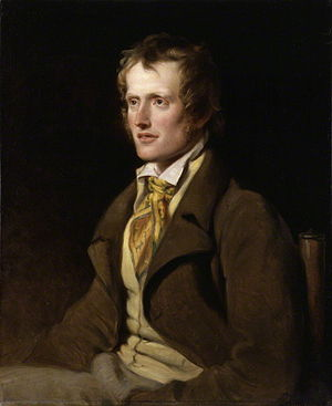John Clare - John Clare by William Hilton, oil on canvas, 1820