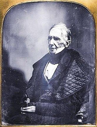 John Collins Warren - Daguerreotype of John Collins Warren, c. 1855, attributed to Josiah Johnson Hawes