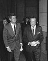 John F. Kennedy and J. Edgar Hoover, FBI National Academy, 1962.jpg