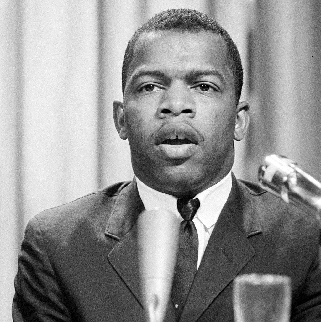 John Lewis in 1964. Photo: Wikipedia