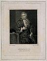 John Radcliffe. Line engraving by J. Fisher after Sir G. Kne Wellcome V0004863.jpg