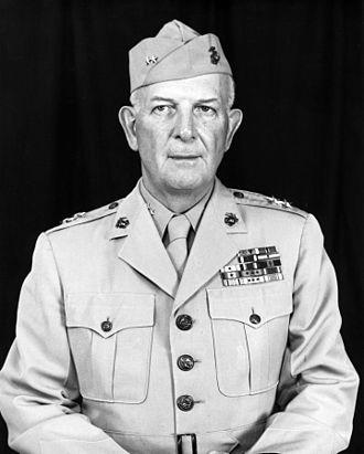 John T. Selden - Major General Selden, USMC