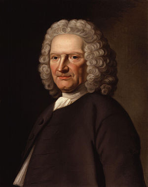 John Ward (academic) - John Ward, portrait by Joseph Samuel Webster.