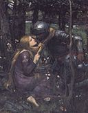 John William Waterhouse - La Belle Dame sans Merci (study).jpg
