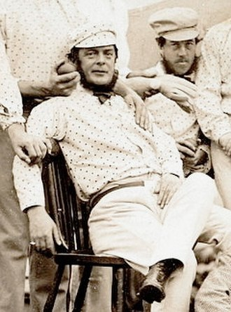 John Wisden - Wisden in the England team to North America in 1859