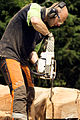 Jonnychainsaw during a chainsaw art demonstration in Scotland 22.jpg