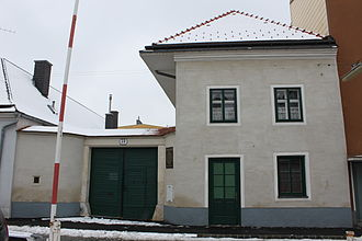 Josef Matthias Hauer - Hauer's birthplace in Wiener Neustadt