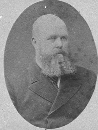 Joseph Dargaville - Joseph Dargaville in 1882