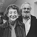 Josepha Mendels en Tony van Verre (1982).jpg
